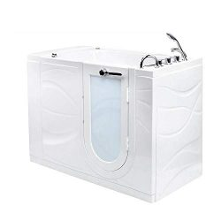 Ella's Bubbles OAZ3052DH-R-D Ella Zen 30″x 52″ Air and Hydro Massage with Heat ...