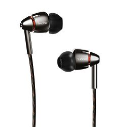 1MORE Quad Driver in-Ear Earphones Hi-Res High Fidelity Headphones Warm Bass, Spacious Reproduct ...