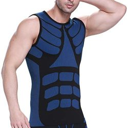 Fine Men Sweat Neoprene Weight Loss Sauna Suit Workout Shirt Body Shaper Fitness Jacket Gym Top  ...