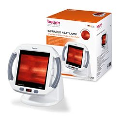 Beurer Infrared Light Heat Lamp Red Light Therapy, Blood Circulation, Back Pain, Muscle Pain, Jo ...