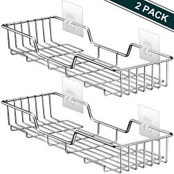 Shower Caddy Bathroom Shelf Storage Corner Basket Holder Shower Organizer Kitchen Spice Rack Ver ...