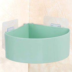 Ostrichy Shower Caddy, Wall Mounted Bathroom Shower Corner Shelf, ABS Shower Corner Caddy, Adhes ...