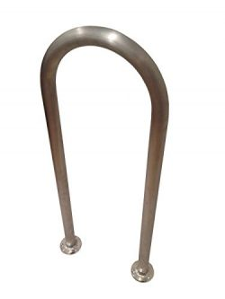 36″ (H) x 13″ (W) Aluminum Handrail – Safety Grab Bar for Marine, Docks, Decks ...