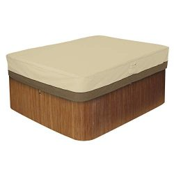 Classic Accessories Veranda Rectangular Hot Tub Cover, Large (Renewed)