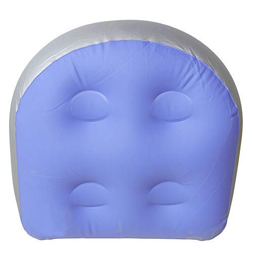 Tiakino Spa and Hot Tub Booster Seat Pad with Suction Cup, Back Support Bath Spa Pad Soft Inflat ...