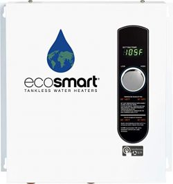 Ecosmart ECO 24 24 KW at 240-Volt Electric Tankless Water Heater with Patented Self Modulating T ...