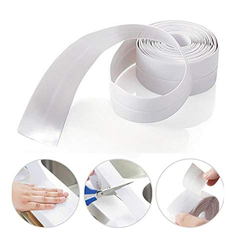 Fine Bathtub Wall Sealing Tape,Caulk Strip Self Adhesive Waterproof Sealing Tape Strip Caulk Sea ...