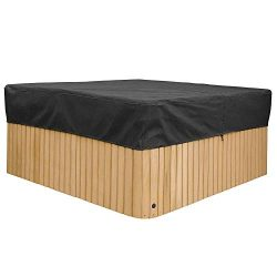 Cheng Yi Large 88Inch Square Hot Tub Cover,Pool Spa Square Hot Tub Cover Cap,Waterproof UV Resis ...