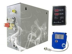 YJINGRUI 7KW Steam Bath Generator Home Steam Shower Sauna Steam Generator for Shower/Sauna Bath/ ...