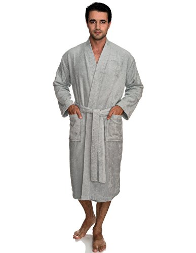 TowelSelections Men's Robe, Turkish Cotton Terry Kimono Bathrobe X-Large/XX-Large High-Rise