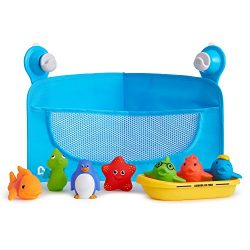 Munchkin Ocean Friends Bath Toy and Storage Set