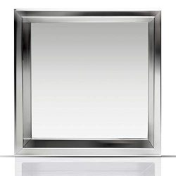 Shower Niche 12″ x 12″ Stainless Steel | Elegant Design | In Wall Shell Installation ...