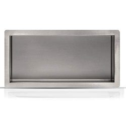 Shower Niche Inwall 12″ x 24″ Stainless Steel – High End Materials – Mod ...