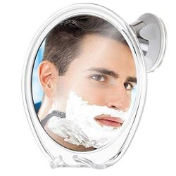 Fogless Shower Mirror for Shaving with Razor Hook | Strong Suction Cup | True Fog Free, Anti-Fog ...
