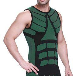 Fine Men Sweat Neoprene Weight Loss Sauna Suit Workout Shirt Body Shaper Fitness Jacket Gym Top  ...