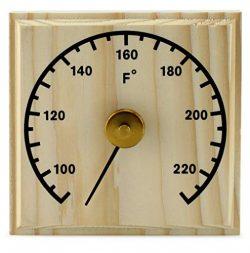 Cornucopia Wooden Sauna Thermometer