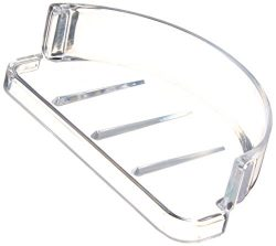 EZ-FLO 15204 Replacement Plastic Soap Dish, Clear