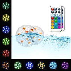 Pool Lights Submersible LED Lights – EFX Led Lights Waterproof Underwater Floating Pool Li ...
