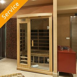 Indoor Sauna Assembly – 3 Person Sauna