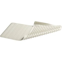 Rubbermaid Commercial Safti-Grip Bath Mat, Large, White, 1982726