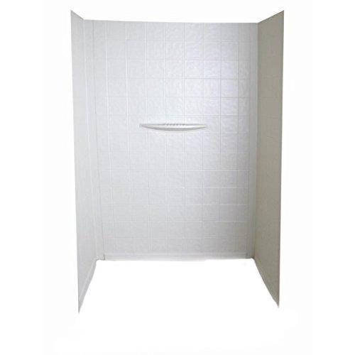 Better Bath WPF243662SPK White Bathtub Wall Surround 24″ x 36″ x 62″