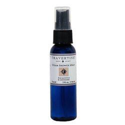 Travertine Spa Steam Shower Spray, Eucalyptus And Lavender, 2 oz.