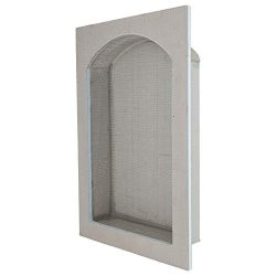 Houseables Shower Niche, Built In Shelf, 13″x21″, Arched, Recessed Shelves, Showers  ...