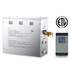 6 KW Steam Generator for Sauna,Bluetooth Sauna Panel,Self-Draining and Waterproof Programmable  ...