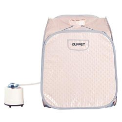 KUPPET Portable Steam Sauna Spa, 2L Personal Therapeutic Sauna for Weight Loss Detox Relaxation  ...