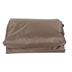 TOPINCN Waterproof Polyester Square Hot Tub Cover Outdoor SPA Covers Square Hot Tub Cover Hot Tu ...