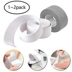 Caulk Strip Bathroom Caulking Tape Waterproof Flexible Self Adhesive Sealing Tape Mildew Proof f ...