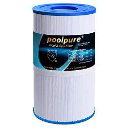 POOLPURE Spa Filter for Hot Tubs Replaces Pleatco PRB35-IN Unicel C-4335 FC-2385, 35 sq ft, Pent ...