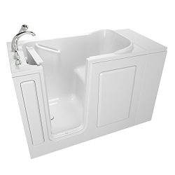 Safety Tubs SSA4828LS-WH 48″x28″ Left Hand Entry Series Soaker White