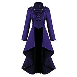 St.Dona_Sweater Women's Gothic Tailcoat Steampunk Jacket Tuxedo Suit Coat Victorian Costum ...