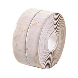 Homankit Bathtub Caulk Strip Kitchen and Bathroom Wall Self Adhesive Waterproof Sealing Tape Dec ...