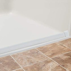 Lifeline Collapsible Water Dam – Shower Threshold | K-Dam Curbless Barrier | 90 Degree End ...