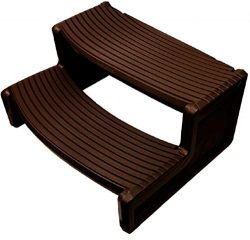 Hi5Ashley Espresso Resin Handi-Step for Spa and Hot Tubs