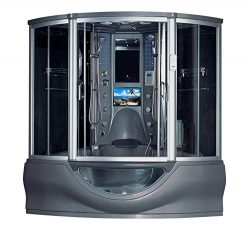 2020 Superior Computerized Steam Shower Sauna with Jetted jacuzzi Whirlpool Massage Bathtub Spa  ...