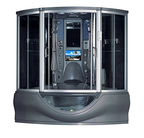 2020 Superior Computerized Steam Shower Sauna with Jetted jacuzzi Whirlpool Massage Bathtub Spa  ...