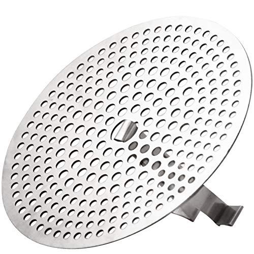 EXPAWLORER Hair Catcher Shower Drain – Stainless Steel Drain Hair Catcher Bathtub Strainer ...