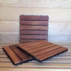 "11"" x 11"" Cedar Sauna Floor Mat (10 Pieces)"