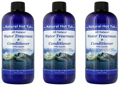 The Natural Hot Tub Company Water Treatment and Conditioner (3-Pack)
