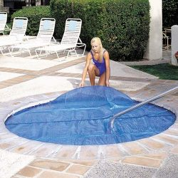 Outdoor Durable Square Hot Tub Cover Solar Spa Blanket Cover 7'x7′ Hot Tub Thermal S ...
