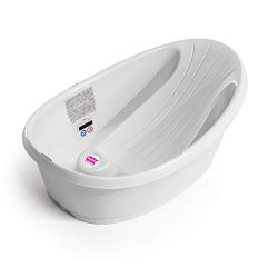 OKBABY Splash Baby Bath – Anti-Slip Base with Built-in Microencapsulated Liquid Crystal Di ...