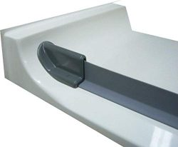 WaterStopper – Collapsible T-Shaped Shower Threshold – Self Adhesive – Shower  ...