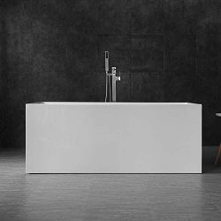 WOODBRIDGE B-0085/BTA-0085 WOODBRIGE 59″ Freestanding Bathtub, white