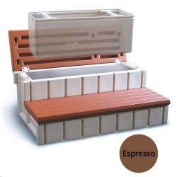 Confer Plastics LASS36-SC-E 36 in. Storage Step Expresso