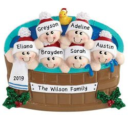 Hobby Home Accessories Personalized Hot Tub Heaven Family Christmas Tree Ornament Present Gift C ...