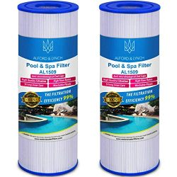 Alford & Lynch 50 sq. ft. Spa Filter for Hot Tub Replaces Pleatco PRB50-IN, Unicel C-4950, F ...