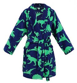 Simplicity Boys Girls Printed Pool Cover up Partywear, Dinosure, S